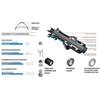 """DT Swiss HX 1501 Spline One Hinterrad 27,5"""" Hybrid Boost 30mm schwarz"""